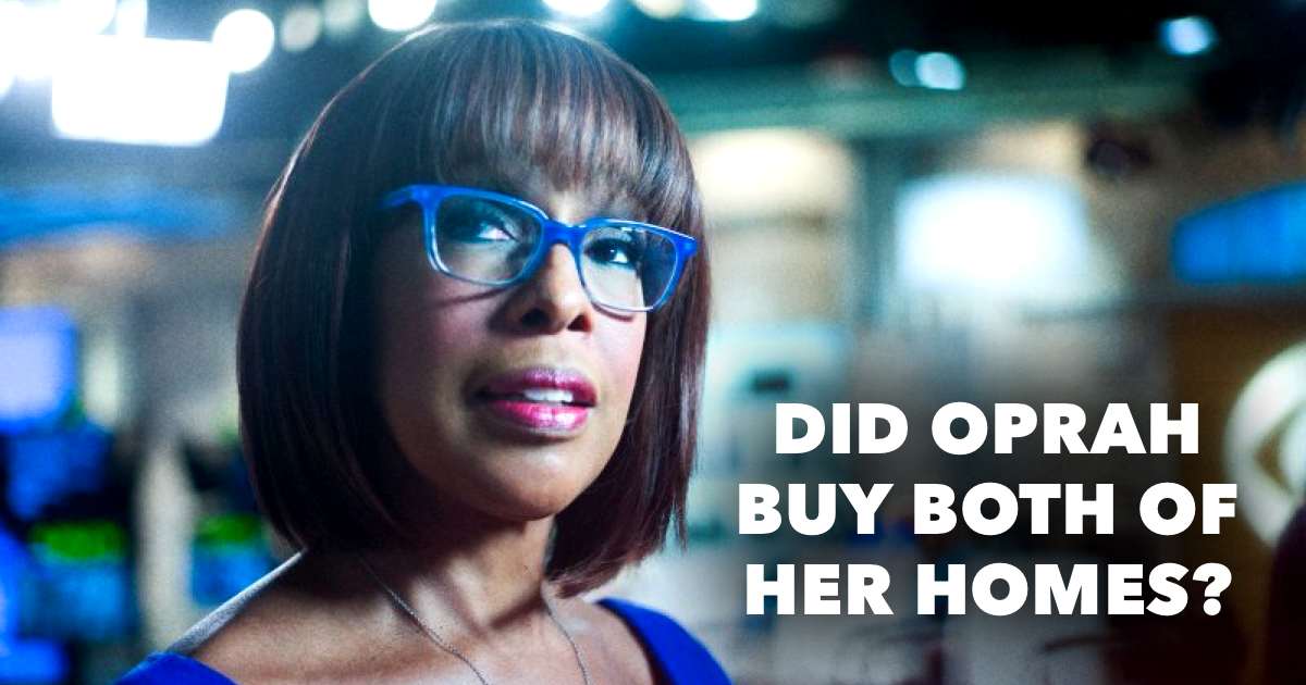 Where does Gayle King live?