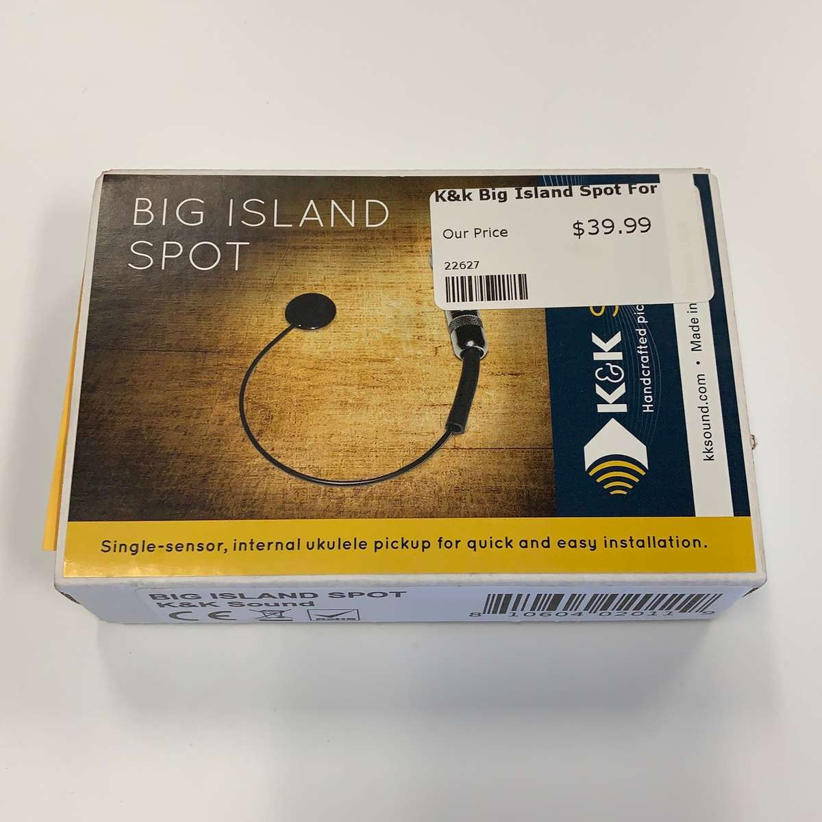 K/&K Big Island Spot Ukulele Pick Up