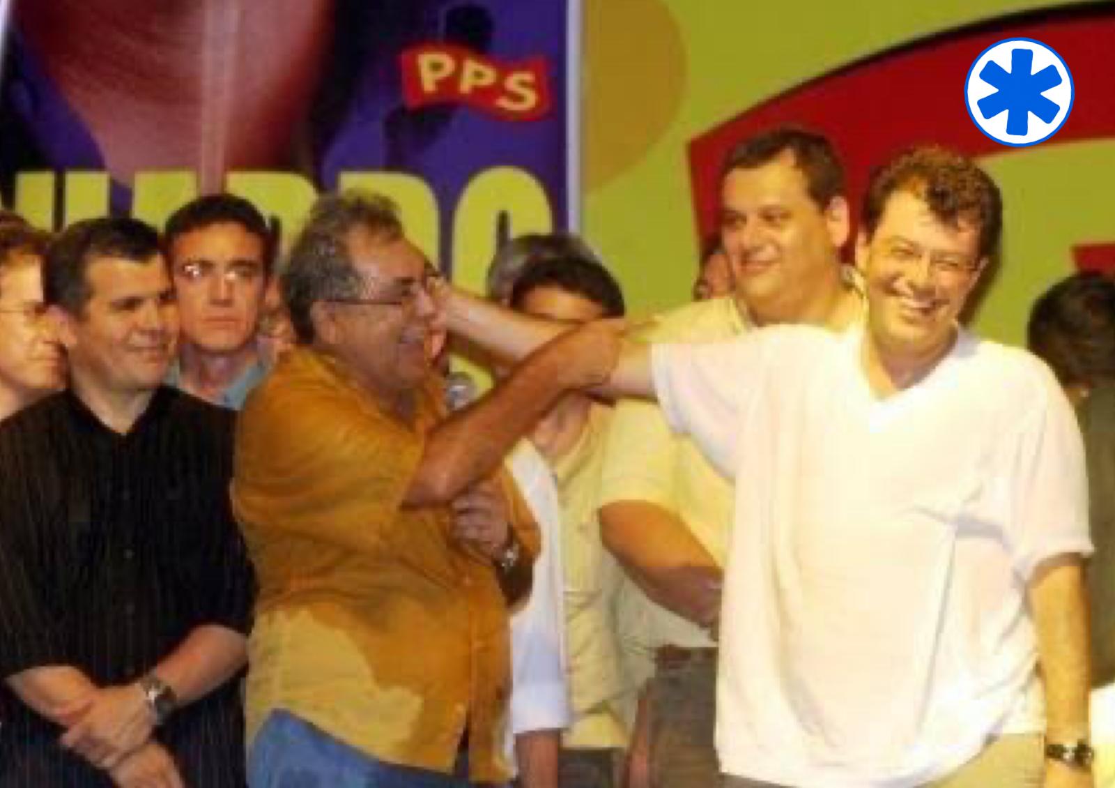 Bosco Saraiva, Lino Chíxaro, Amazonino, Carijó e Eduardo Braga