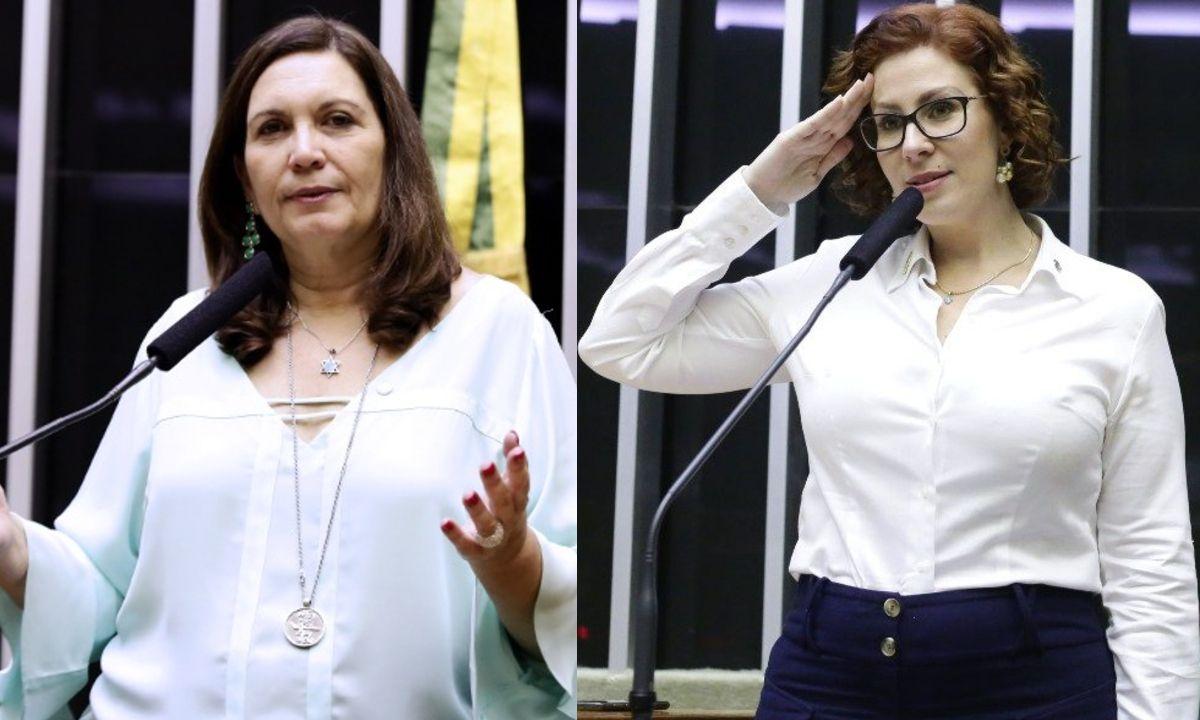 Bia Kicis e Carla Zambelli deputadas bolsonaristas