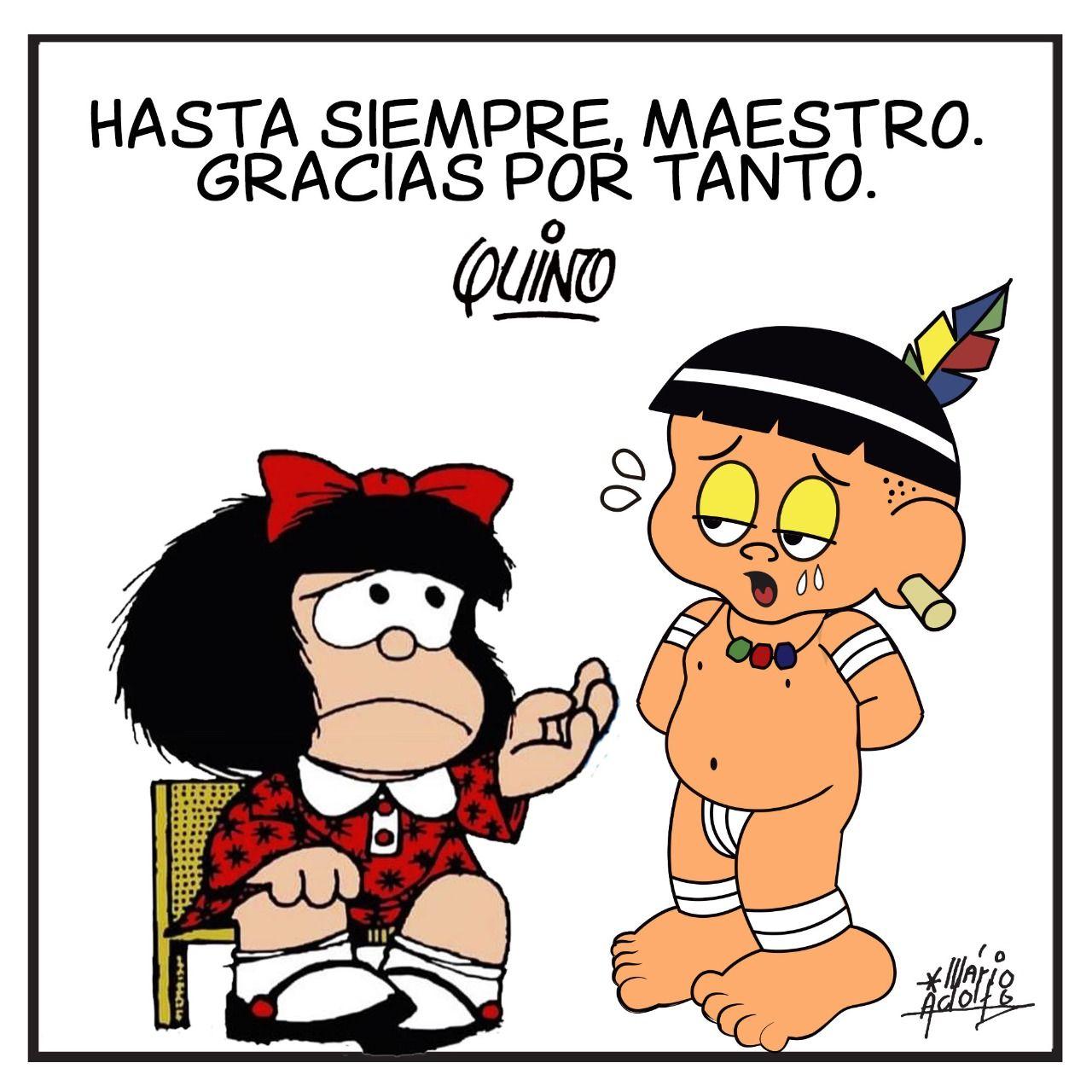 Curumim e Mafalda