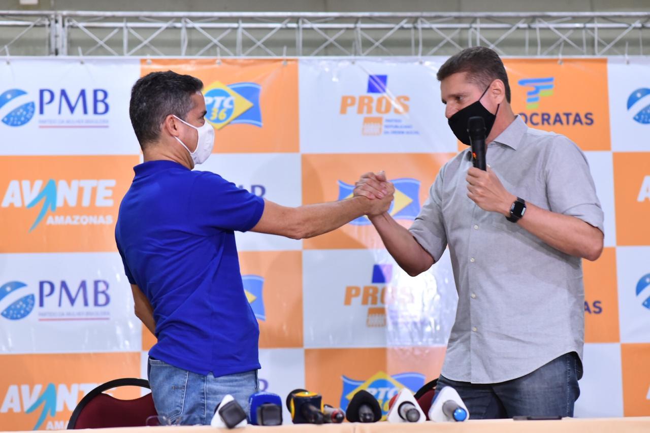 David Almeida e Marcos Rotta