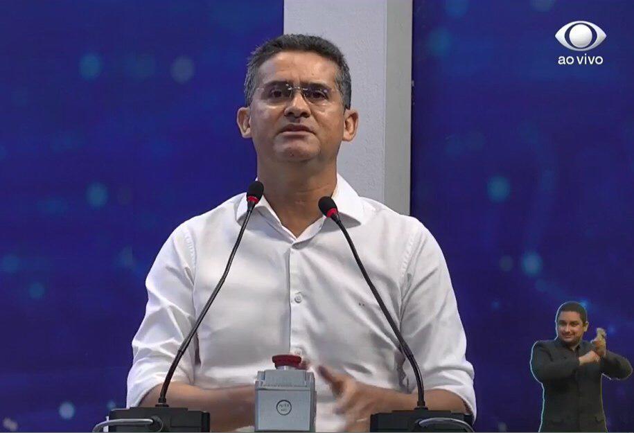 David Almeida em debate da BAND
