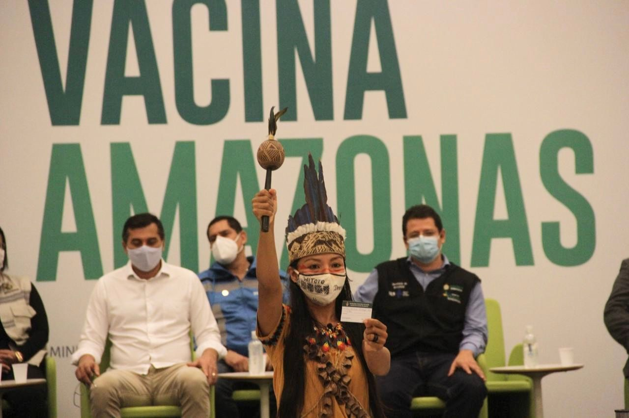 Vanda Ortega é de Amaturá