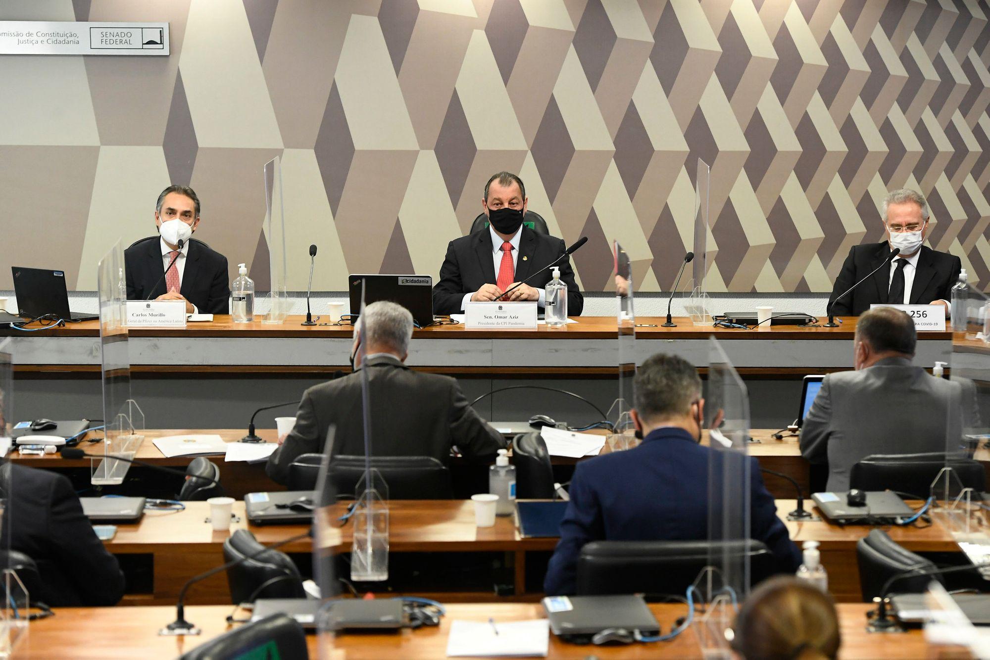Carlos Murillo na CPI da Pandemia
