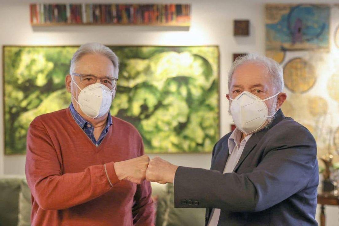 FHC e Lula juntos
