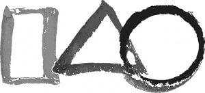 zen black square triangle circle