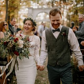 Outdoor Nashville Fall Wedding