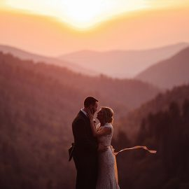 Smoky Mountain Wedding at Spence Cabin