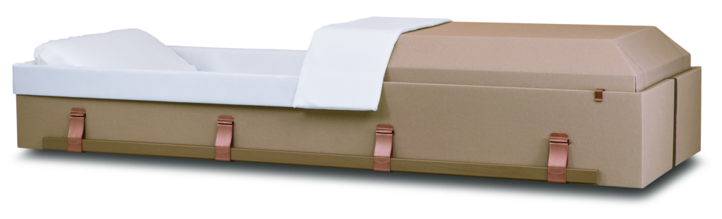 Harmony Cloth Covered Cremation Container