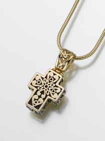 Filigree Cremation Cross