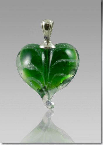 Green Cremation Heart