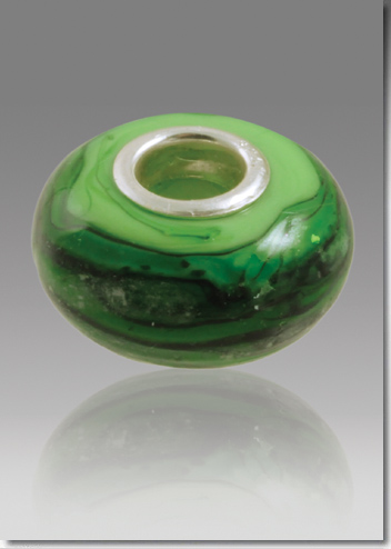 Malachite Cremation Bead