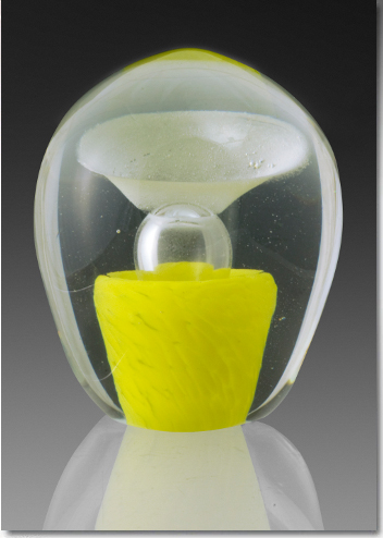 Yellow Cremation Fountain