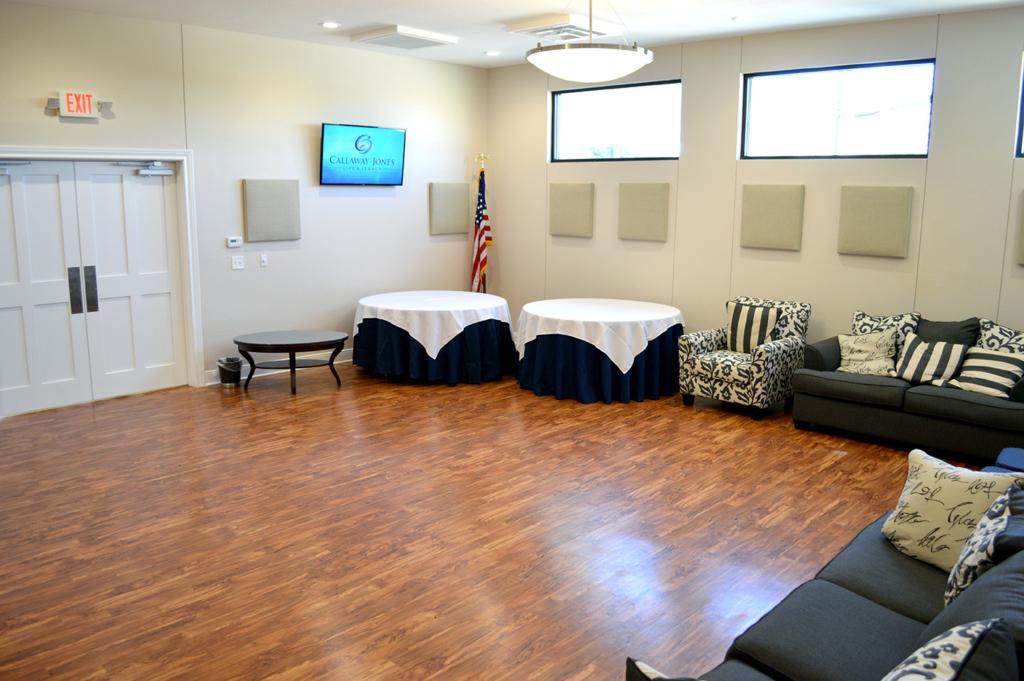 Callaway-Jones Funeral Center Event Room