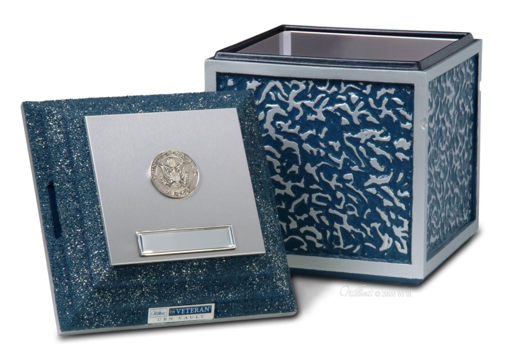 Veteran Cremation Urn Vault