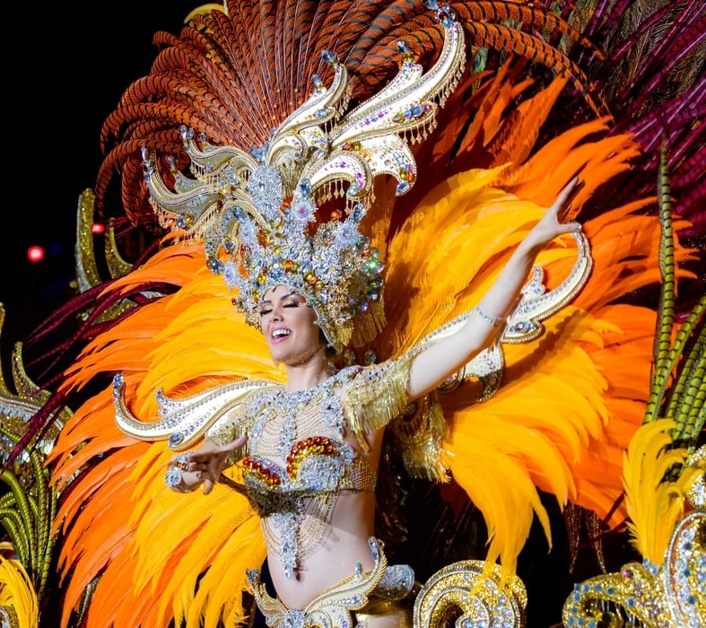 Tenerife carnival canary islands spain