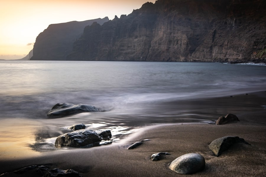los gigantes cliffs in Tenerife