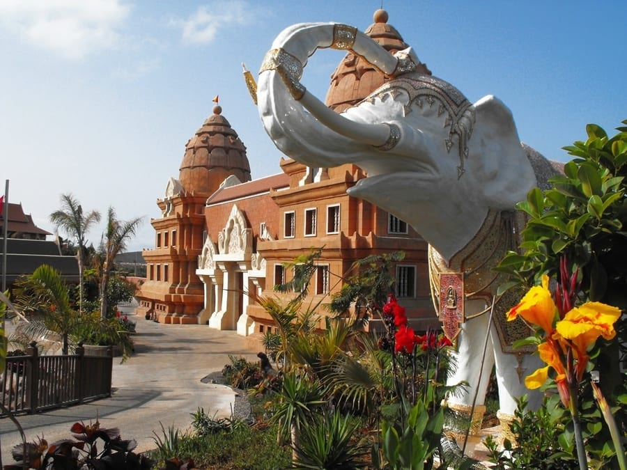 Siam park thai-themed water park in tenerife