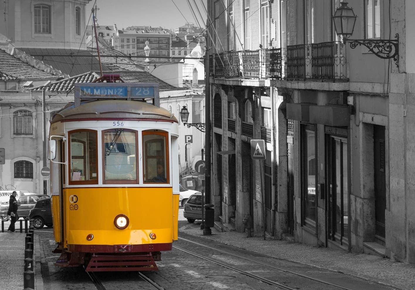 Take the Tram 28, a great activity to do in Lisbon