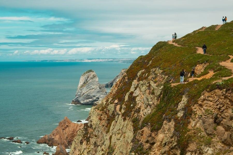 Cabo da Roca, a cliff you have to visit in Cascais, Lisbon