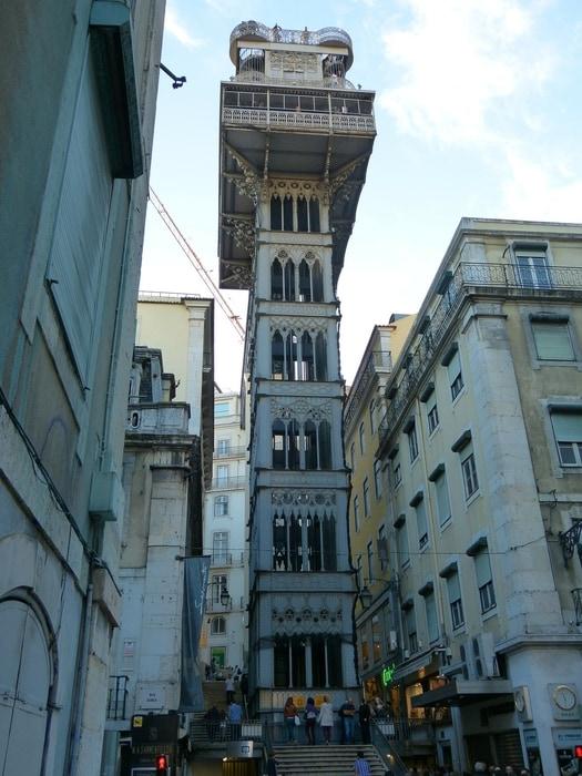 Subir al Elevador de Santa Justa, que hacer en Lisboa