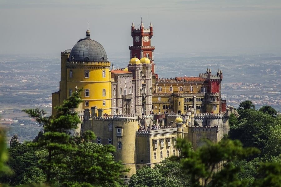 Pena Palace, the most beautiful attraction in Sintra