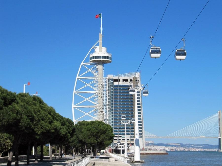 Parque de las Naciones, algo moderno que ver en Lisboa