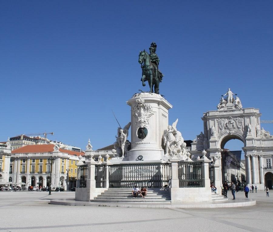 Plaza del Comercio un imprescindible que ver en Lisboa Portugal