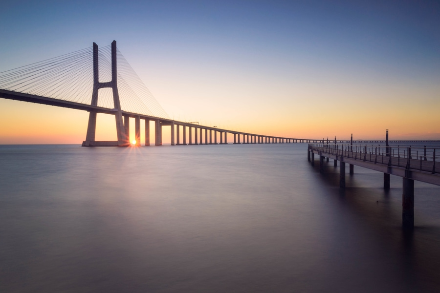 Cross the Vasco de Gama Bridge, something to do in Lisbon