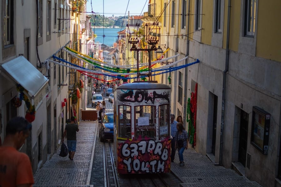 Barrio Alto, a place to visit in Lisbon at night