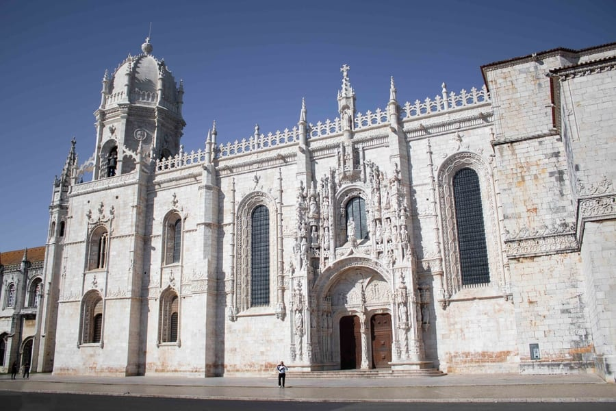 Jerónimos Monastery, something you can't miss in Lisbon