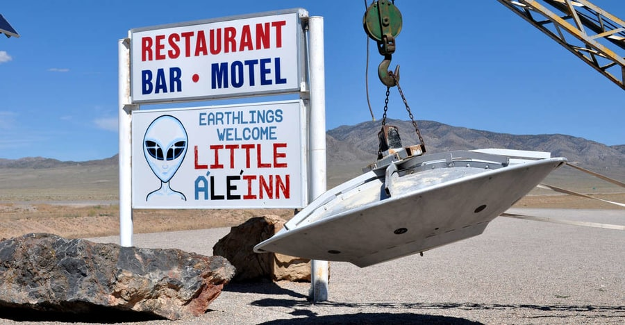 Visit the Area 51, a tour to take from Las Vegas