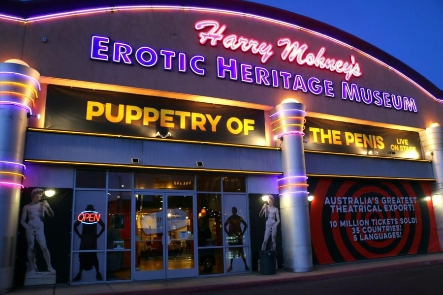 Erotic Heritage Museum, something for adults to visit in Las Vegas