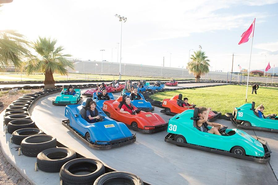 Las Vegas Mini Grand Prix Family, un lugar donde ir en Las Vegas en familiar