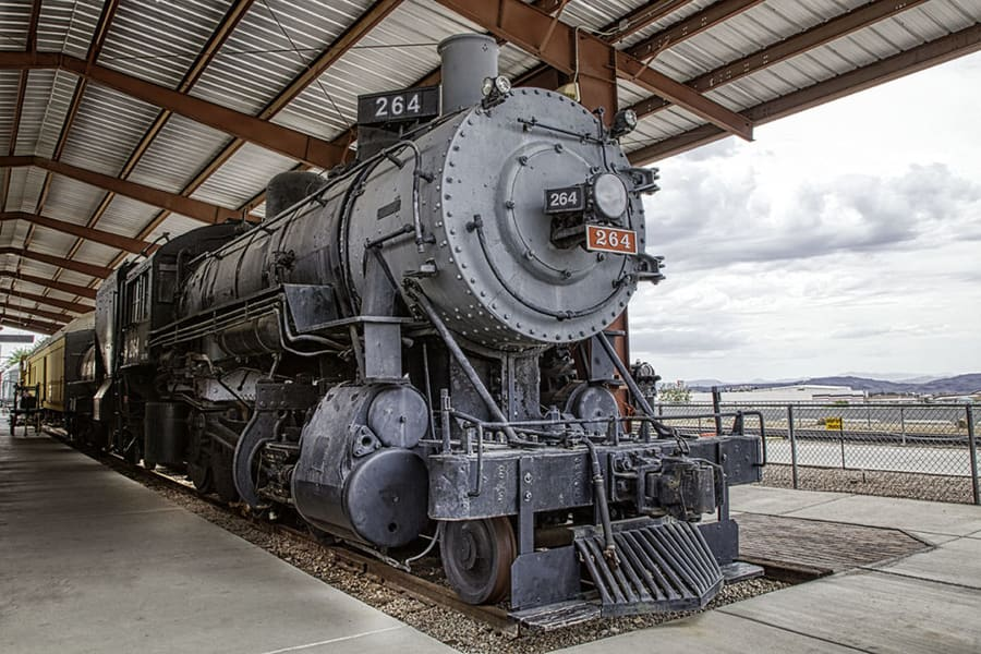 Visit the Nevada Southern Railroad Museum Boulder City in Las Vegas
