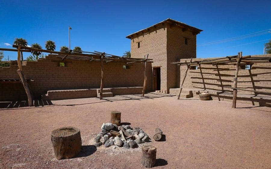 Parque Histórico Estatal Old Las Vegas Mormon Fort, Nevada