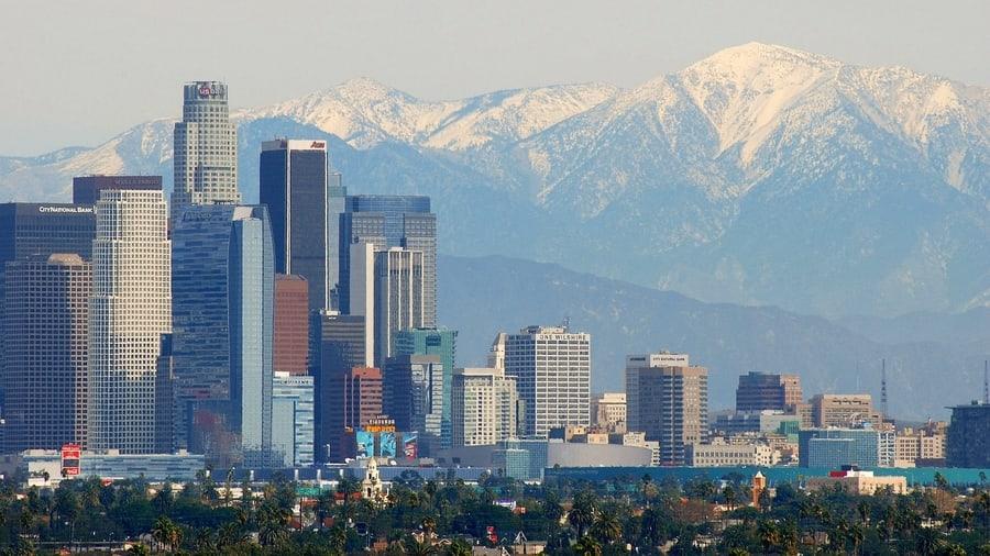 Baldwin Hills Scenic Overlook, a good views of Los Angeles
