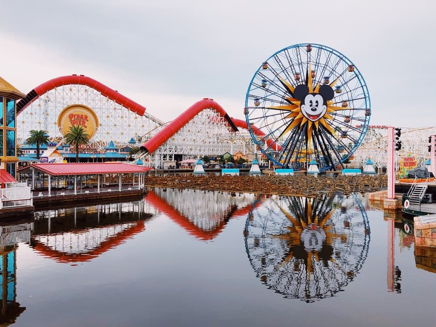 Disneyland Hollywood, one of the best theme parks to go in LA