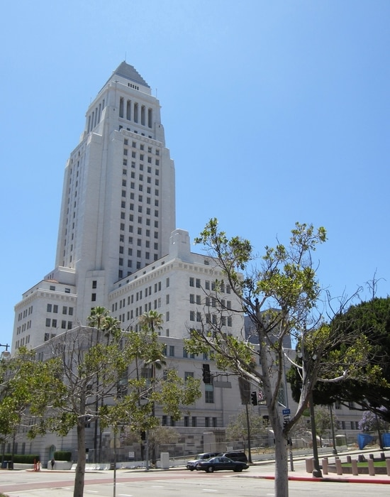 Los Angeles City Hall, the most important building in Los Angeles