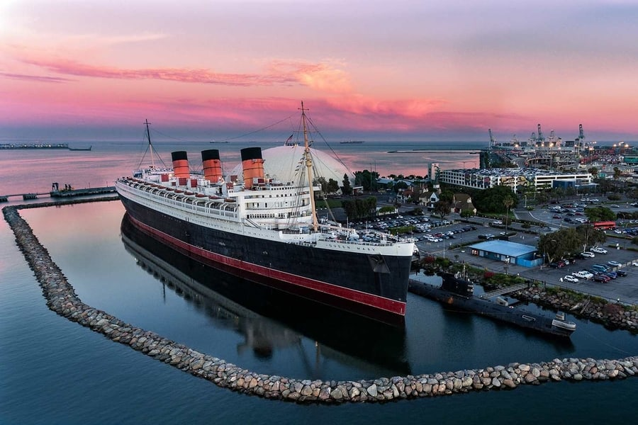 Queen Mary, the haunted ship to visit in Los Angeles