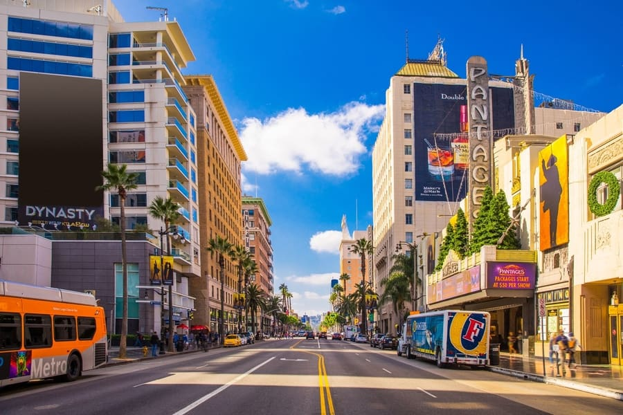Sunset Strip, a place you have to visit in Los Angeles