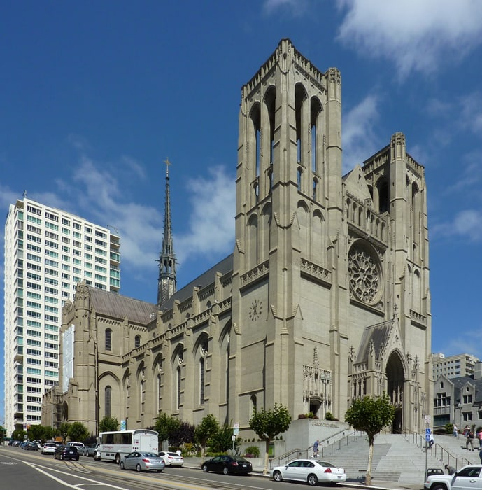 Grace Cathedral, an attraction to visit in San Francisco