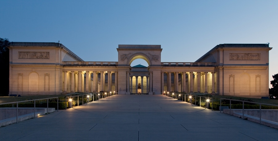 Legion of Honor, a museum of decorative arts in SF