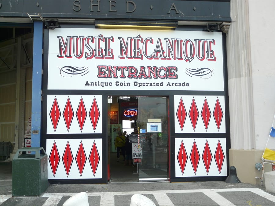 Musée Mécanique, a very curious museum to see in SF