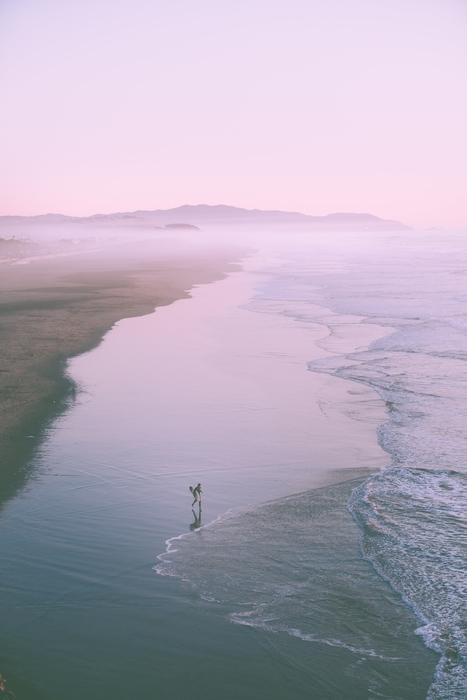 Ocean Beach, a beach to visit in San Francisco
