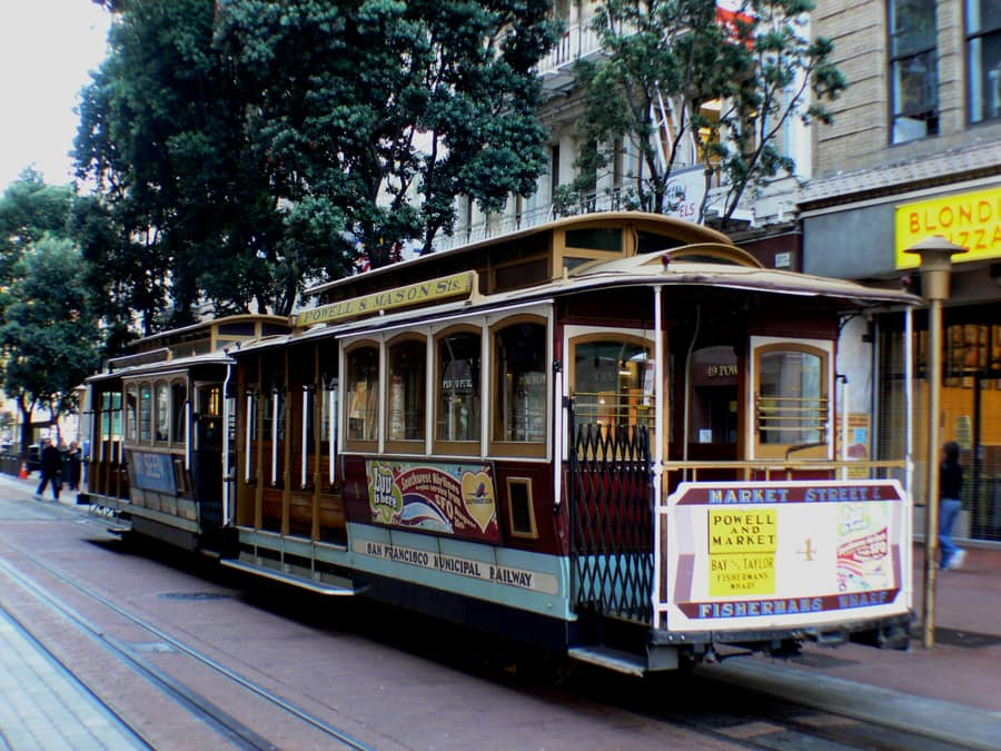 Take the Cable Car, the best thing to do in San Francisco California