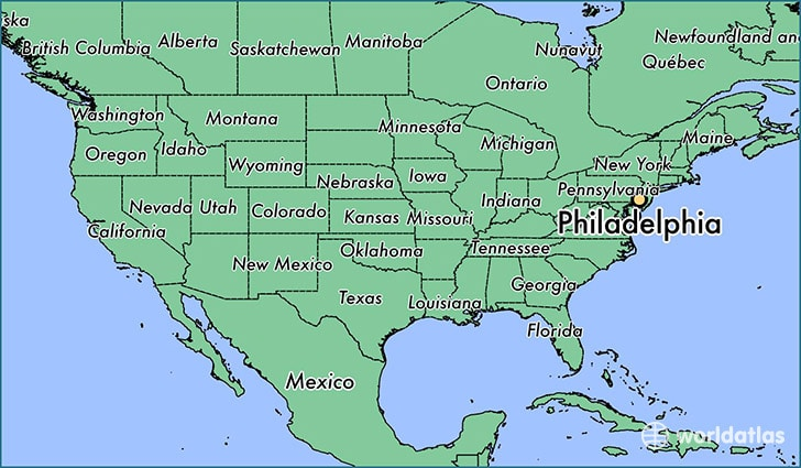 philadelphia in map of usa Philadelphia Maps The Tourist Map Of Philly To Plan Your Visit philadelphia in map of usa