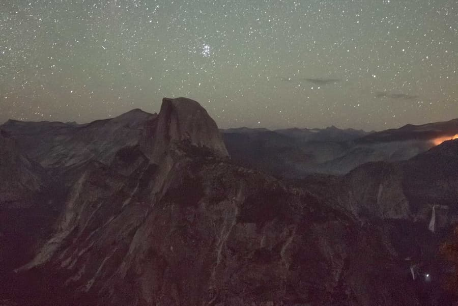 Ejemplo ISO para fotografiar estrellas