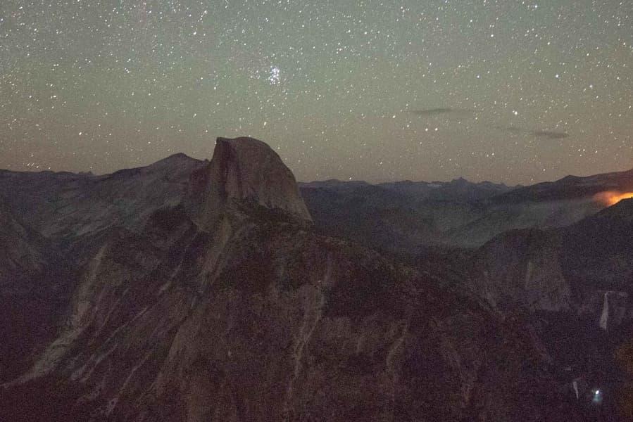 Ejemplos de ISO en fotografía nocturna